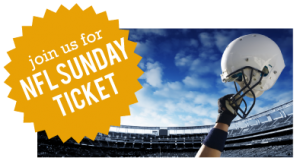 Join Us for NFL Sunday Ticket